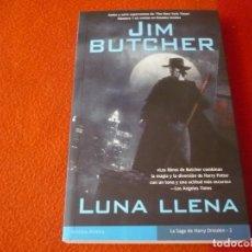 Libros de segunda mano: LUNA LLENA HARRY DRESDEN 2 ( JIM BUTCHER ) 1ª EDICION ¡BUEN ESTADO! LA FACTORIA DE IDEAS 2007. Lote 240974295