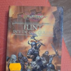 Libros de segunda mano: FLINT, REY DE LOS GULLYS: PRELUDIOS DE LA DRAGONLANCE. VOLUMEN 5. Lote 241367200