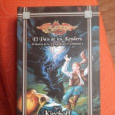 Libros de segunda mano: EL PAÍS DE LOS KENDERS - PRELUDIOS DRAGONLANCE. Lote 241369800