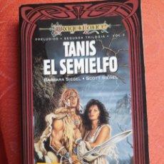 Libros de segunda mano: TANIS EL SEMIELFO - PRELUDIOS DRAGONLANCE. Lote 241370145