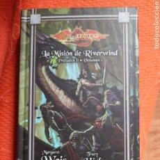 Libros de segunda mano: LA MISIÓN DE RIVERWIND - PRELUDIOS DRAGONLANCE. Lote 241430355