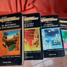 Libros de segunda mano: CRÓNICAS DE LA DRAGONLANCE & APÉNDICES. Lote 241430590