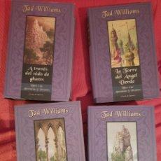 Libros de segunda mano: AÑORANZAS Y PESARES - TAD WILLIAMS (4 TOMOS - COMPLETA). Lote 241495255