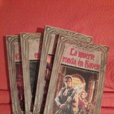Libros de segunda mano: LAS AVENTURAS DE HAWK Y FISHER (4 TOMOS - COMPLETA). Lote 241519795