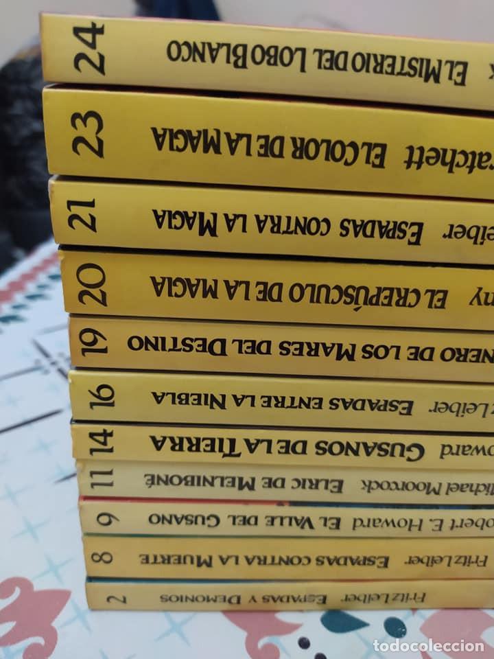 LOTE DE 11 NOVELAS DE AVENTURAS Y FANTASIA DE LA COLECCIÓN MARTINEZ ROCA (Libros de Segunda Mano (posteriores a 1936) - Literatura - Narrativa - Ciencia Ficción y Fantasía)