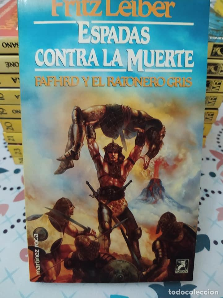 Libros de segunda mano: Lote de 11 novelas de aventuras y fantasia de la colección Martinez Roca - Foto 4 - 242208955