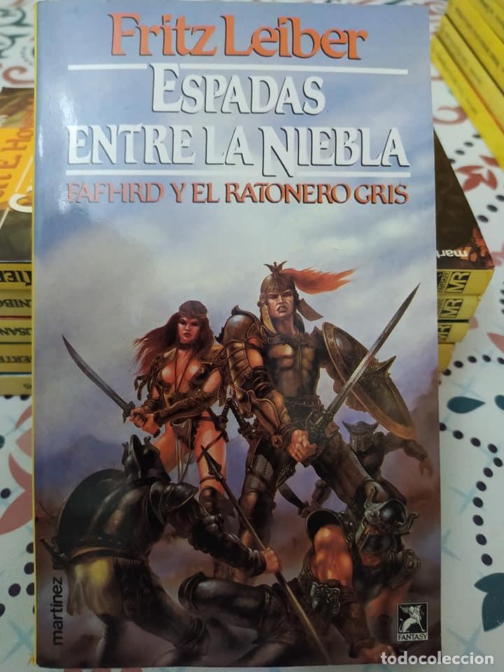Libros de segunda mano: Lote de 11 novelas de aventuras y fantasia de la colección Martinez Roca - Foto 5 - 242208955