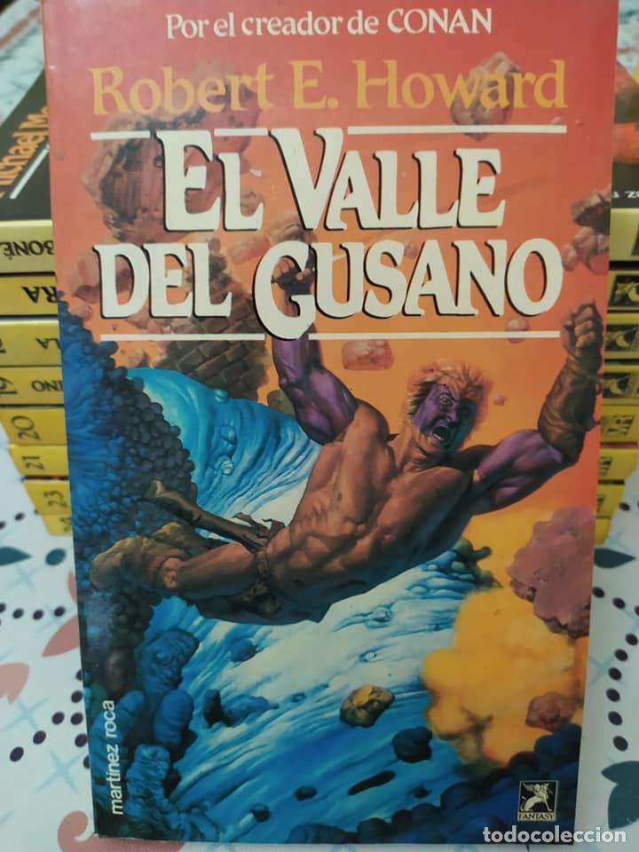 Libros de segunda mano: Lote de 11 novelas de aventuras y fantasia de la colección Martinez Roca - Foto 6 - 242208955