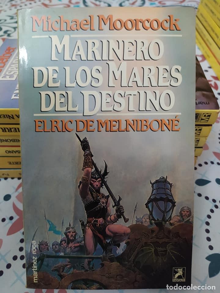 Libros de segunda mano: Lote de 11 novelas de aventuras y fantasia de la colección Martinez Roca - Foto 7 - 242208955
