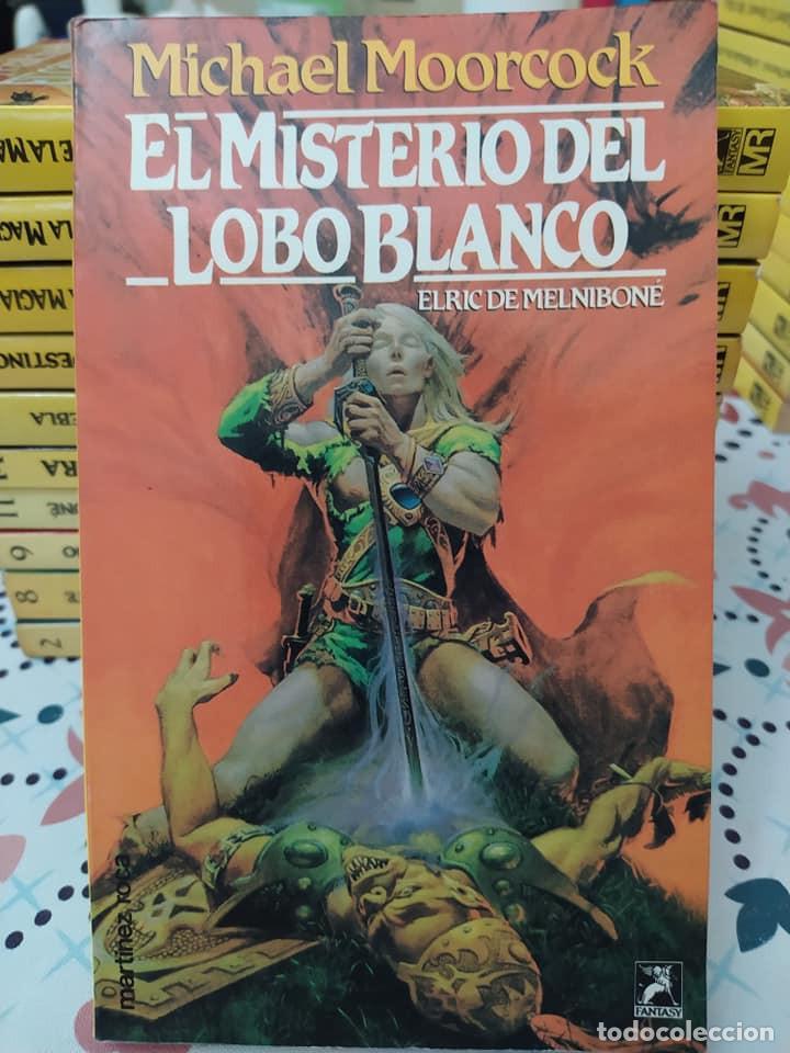 Libros de segunda mano: Lote de 11 novelas de aventuras y fantasia de la colección Martinez Roca - Foto 9 - 242208955