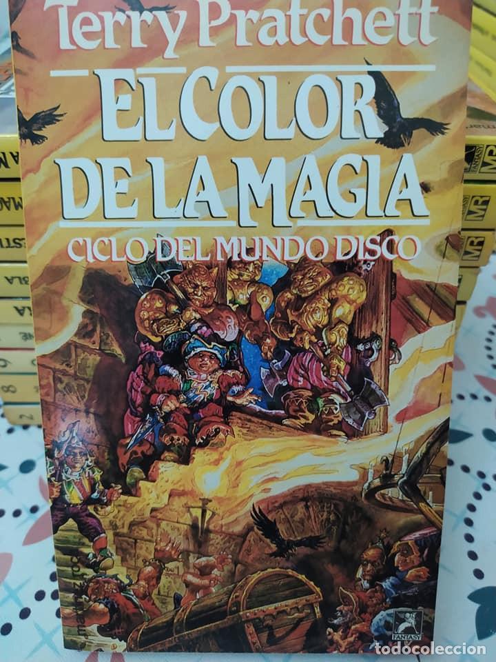Libros de segunda mano: Lote de 11 novelas de aventuras y fantasia de la colección Martinez Roca - Foto 10 - 242208955