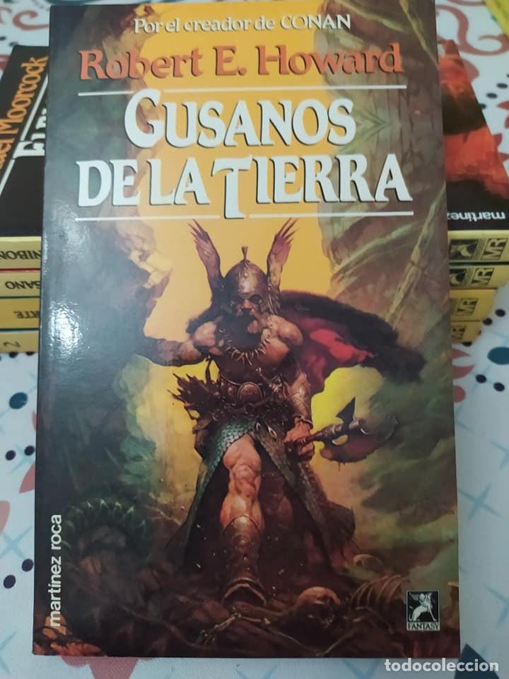 Libros de segunda mano: Lote de 11 novelas de aventuras y fantasia de la colección Martinez Roca - Foto 11 - 242208955