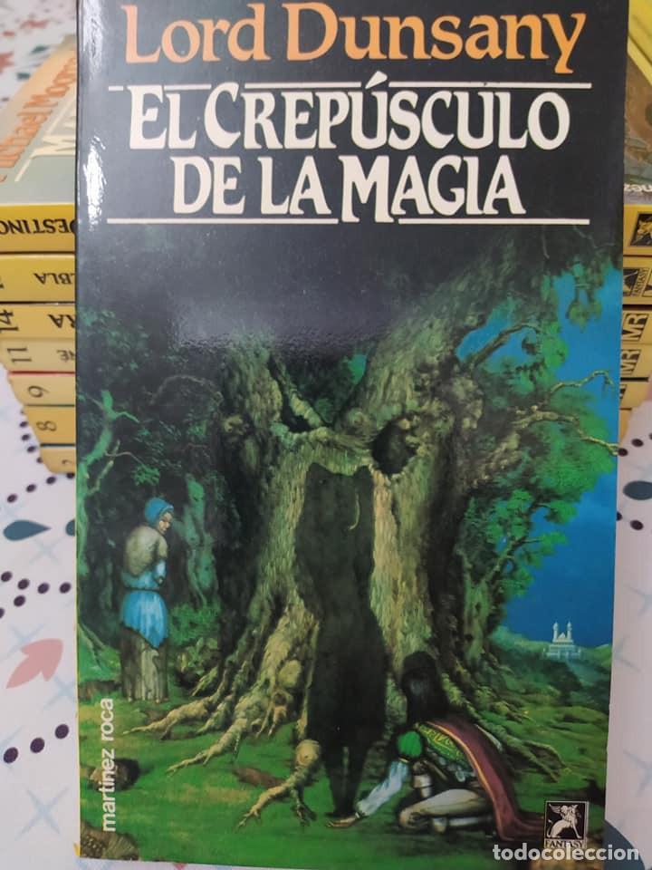 Libros de segunda mano: Lote de 11 novelas de aventuras y fantasia de la colección Martinez Roca - Foto 12 - 242208955