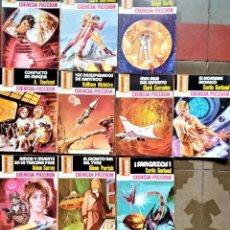 Libros de segunda mano: LA CONQUISTA DEL ESPACIO - Nº 480 - 489- BRUGUERA CIENCIA FICCIÓN. Lote 243571685