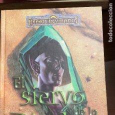 Libros de segunda mano: EL SIERVO DE LA PIEDRA, SALVATORE TIMUN MAS. Lote 243776740