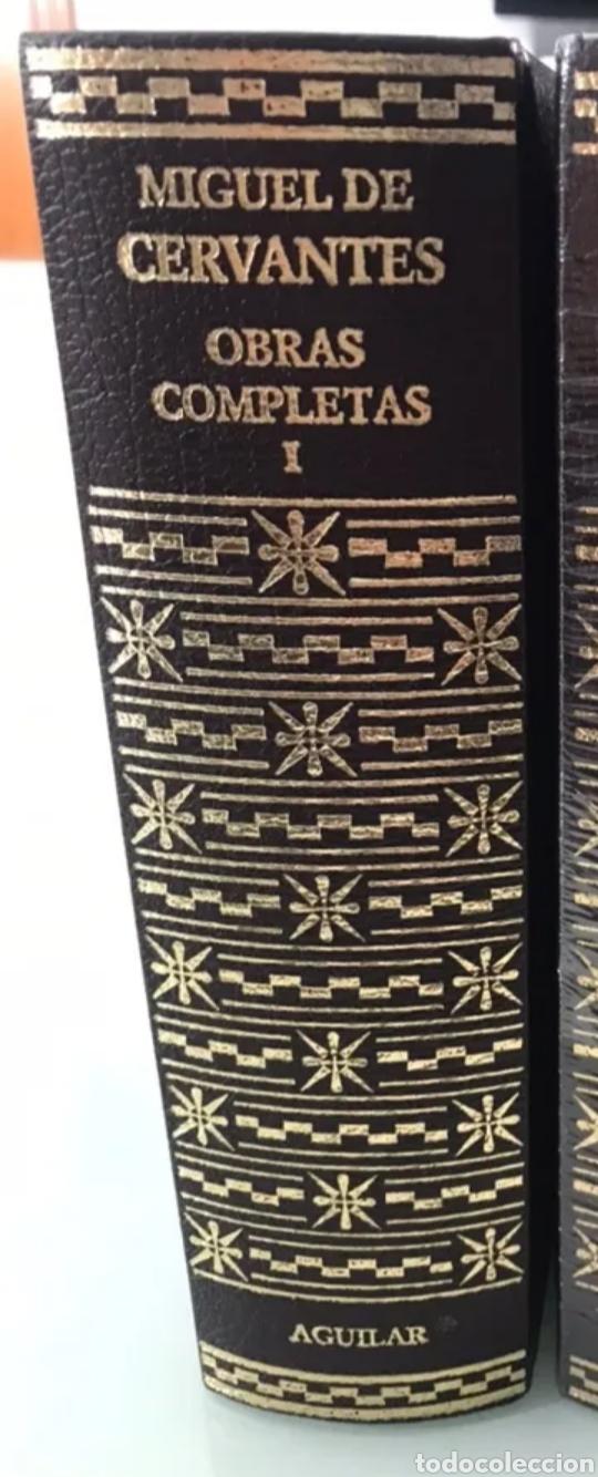 MIGUEL DE CERVANTES. OBRAS COMPLETAS EDICIONES AGUILAR. SÓLO TOMO 1 (Libros de Segunda Mano (posteriores a 1936) - Literatura - Narrativa - Ciencia Ficción y Fantasía)