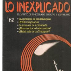 Libros de segunda mano: LO INEXPLICADO. EL MUNDO DE LO EXTRAÑO, INSOLITO Y MISTERIOSO. FASCÍCULO Nº 62. EDT. DELTA, 1981(*). Lote 245233940