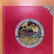 Livres d'occasion: DRAGONES. EL GRAN LIBRO DE LOS DRAGONES / CÍRCULO DE LECTORES - VOL. I. Lote 245356845