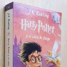 Libros de segunda mano: HARRY POTTER Y EL CÁLIZ DE FUEGO - ROWLING, J.K.. Lote 245418425