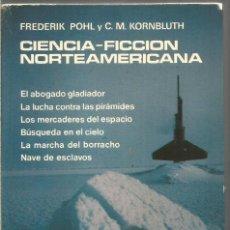 Libros de segunda mano: CIENCIA-FICCION NORTEAMERICANA. TOMO I. FREDERIK POHL Y C.M. KORNBLUTH. AGUILAR. Lote 245652630