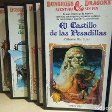 Libros de segunda mano: DUNGEONS&DRAGONS AVENTURA SIN FIN Nº 1,2,3, 9,10. Lote 245951745