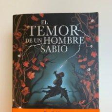 Libros de segunda mano: EL TEMOR DE UN HOMBRE SABIO. Lote 246142805