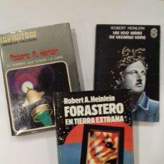 Livros em segunda mão: LOTE 3 LIBROS ROBERT HEINLEIN.. Lote 246328035