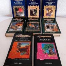 Libros de segunda mano: LOTE 8 TIMUN MAS DRAGON LANCE DRAGONLANCE HÉROES COMPLETA PRELUDIOS COMPLETA APÉNDICE CRÓNICAS VOL I. Lote 247289560