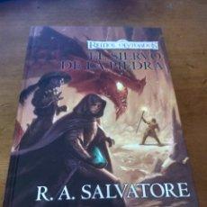 Libros de segunda mano: EL SIERVO DE LA PIEDRA ( R.A. SALVATORE ) TIMUN MAS. Lote 247358165