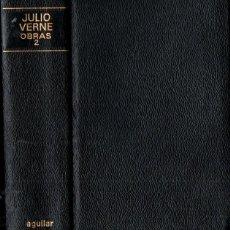Libros de segunda mano: JULIO VERNE : OBRAS 2 (AGUILAR LINCE INQUIETO, 1970) PLENA PIEL. Lote 247468975