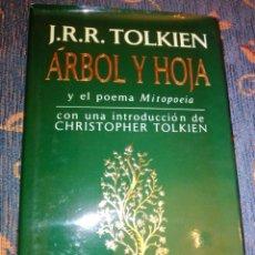 Libros de segunda mano: ÁRBOL Y HOJA Y EL POEMA MITOPOEIA MINOTAURO 1994. Lote 248808365