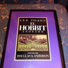 Libros de segunda mano: EL HOBBIT ANOTADO DOUGLAS A ANDERSON. Lote 248809970