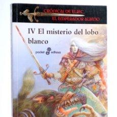 Livros em segunda mão: CRÓNICAS DE ELRIC, EL EMPERADOR ALBINO IV. EL MISTERIO DEL LOBO BLANCO (MICHAEL MOORCOCK) 2011. OFRT. Lote 249278150