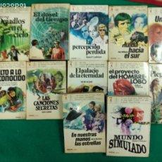 Libros de segunda mano: LOTE 12 LIBROS CIENCIA-FICCION ERUS. VERON .EDITOR.. Lote 250142365
