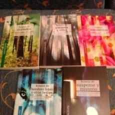 Libros de segunda mano: COLECCIÓN ECLIPSE RELATOS DE. Lote 251575625