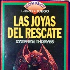Libros de segunda mano: LAS JOYAS DEL RESCATE - STEPHEN THRAVES - COMPACT LIBRO FICHAS ACCESORIOS DEL JUEGO - TIMUN MAS. Lote 252059565
