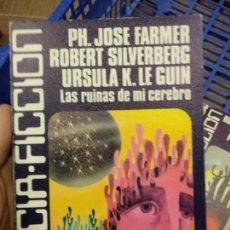 Libros de segunda mano: EDAF CIENCIA FICCIÓN Nº24. LAS RUINAS DE MI CEREBRO. FARMER. SILVERBERG. URSULA K. LE GUIN. Lote 252558315