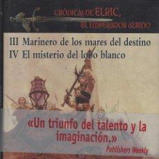 Libros de segunda mano: MICHAEL MOORCOCK. ELRIC. TOMO DOBLE. EDHASA. FANTASY NEBULAE. TAPA DURA. EDIC.LUJO CON SOBRECUBIERTA. Lote 252590855