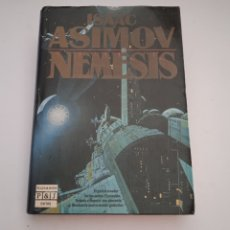 Libros de segunda mano: NÉMESIS - ISAAC ASIMOV - PRIMERA EDICIÓN 1990 PLAZA & JANES. Lote 252983255