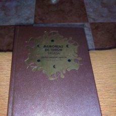 Libros de segunda mano: MEMORIAS DE IDHÚN TRIADA LAURA GALLEGO. Lote 253180310