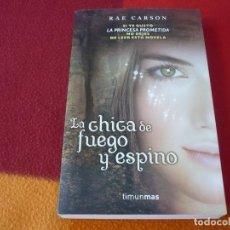 Libros de segunda mano: LA CHICA DE FUEGO Y ESPINO ( RAE CARSON ) TIMUN MAS. Lote 253530155
