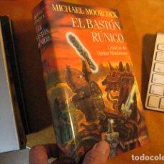 Livros em segunda mão: EL BASTÓN RUNICO. MICHAEL MOORCOCK. CÍRCULO DE LECTORES NUEVO. Lote 253693675