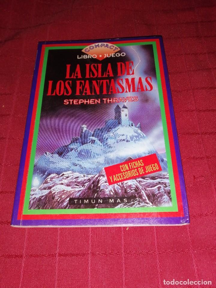 STEPHEN THRAVES - LA ISLA DE LOS FANTASMAS , LIBRO JUEGO (Libros de Segunda Mano (posteriores a 1936) - Literatura - Narrativa - Ciencia Ficción y Fantasía)