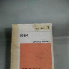 Libros de segunda mano: 1984 . GEORGE ORWELL. SALVAT. Lote 254313555