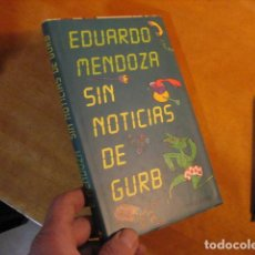 Libros de segunda mano: SIN NOTICIAS DE GURB EDUARDO MENDOZA CIRCULO DE LECTORES NUEVO. Lote 254363325