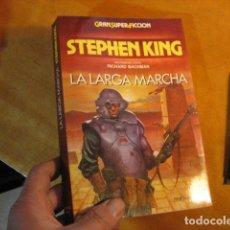 Libros de segunda mano: LA LARGA MARCHA - STEPHEN KING - GRRAN SUPER FICCION - MARTINEZ ROCA COMO NUEVO. Lote 254363625