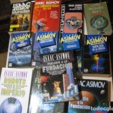Libros de segunda mano: LOTE DE 12 LIBROS DE ASIMOV, SUEÑOS DE ROBOT, GUIA DE LA BIBLIA... OFERTA. Lote 254369250