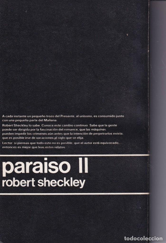 Libros de segunda mano: PARAISO II - ROBERT SHECKLEY - NEBULAE 7 - EDHASA 1976 - Foto 2 - 254502560