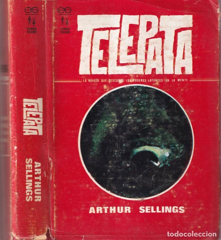 TELEPATA - ARTHUR SELLINGS - EDICIONES GEMINIS 1968 (Libros de Segunda Mano (posteriores a 1936) - Literatura - Narrativa - Ciencia Ficción y Fantasía)