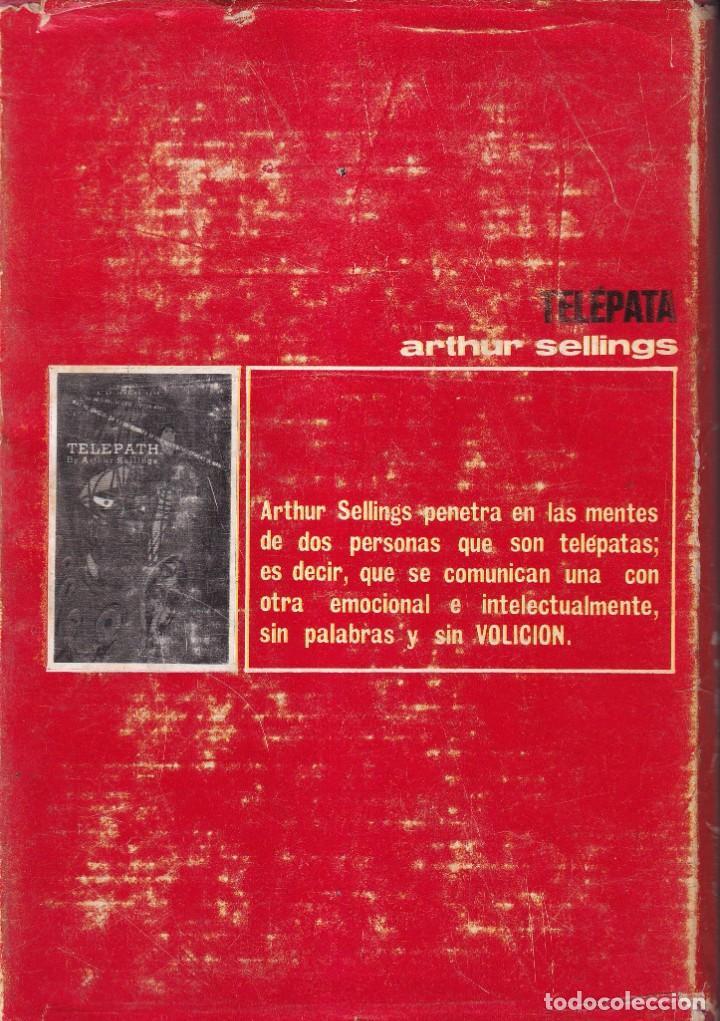 Libros de segunda mano: TELEPATA - ARTHUR SELLINGS - EDICIONES GEMINIS 1968 - Foto 2 - 254505825